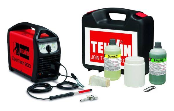 Cleantech 200 varrattisztító készlet rozsdamentes varratok tisztításához