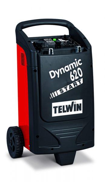 Dynamic 620 hálózati töltő-indító személygépjárművek és teherautók indítására