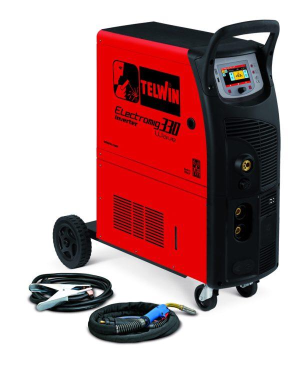 Electromig 330 Wave Aqua vízhűtéses ipari hegesztőgép