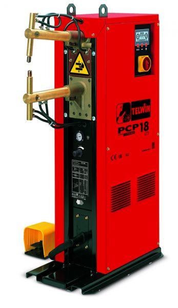 A PCP 18 állványos ponthegesztő pneumatikus pedállal működtethető, ezáltal könyebb és gyorsabb munkavégzést tesz lehetővé.