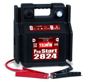 Pro Start 2824 hordozható hidegindító személyautók és teherautók bikázására