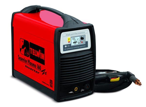 Superior Plasma 160 professzionális ipari plazmavágó akár 40 mm-es anyagokhoz is