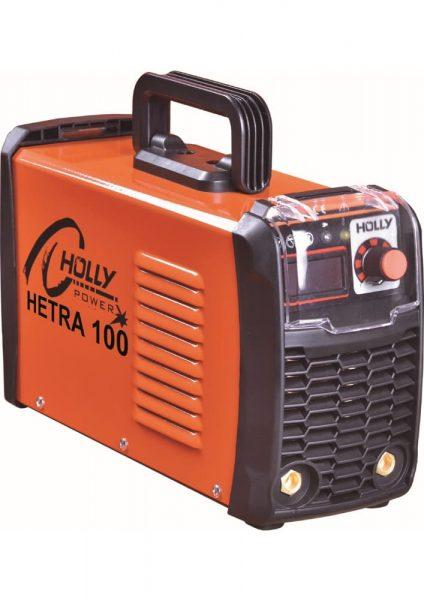 A HETRA 100 inverter korszerű, a hordozhatóság igényeinek is maximálisan megfelelő, kis súlyú és energiatakarékos hegesztőgép.