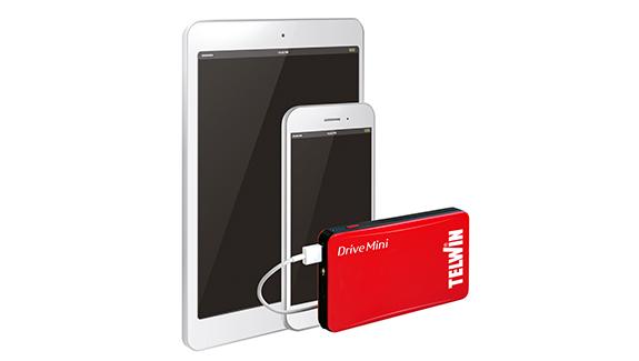 Drive Mini telefon és tablet töltésre