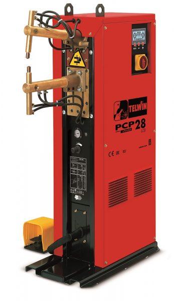 A PCP 28 állványos ponthegesztő ipari felhasználásra tervezett, kétfázisú ponthegesztőgép, mely széleskörűen alkalmazható a különböző iparágakban a fémelemek tartós illesztésére.