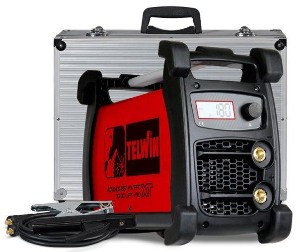 Az Advance 227 XT MV/PFC VRD hegesztőgép ingadozó feszültségű hálózaton vagy hosszabbítóról is használható