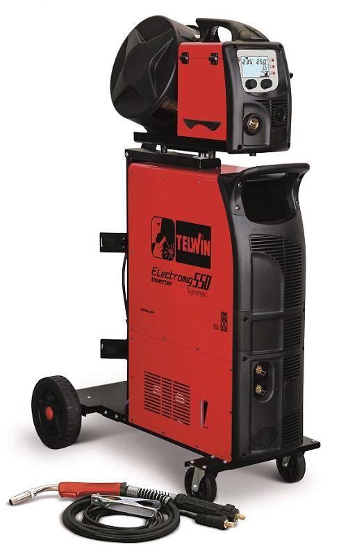 Electromig 550 Synergic Aqua hegesztőgép külön huzaltolóval