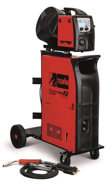 Electromig 450 Synergic Aqua hegesztőgép külön huzaltolóval