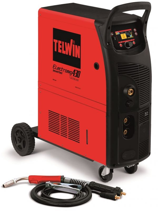 Electromig 430 WAVE professzionális ipari hegesztőgép impulzus funkciókkal